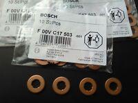 Bosch diesel injection carburant INJECTEUR SUPPORT JOINT Rondelle / entretoise