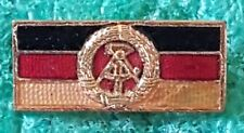 GERMAN FLAG EX-DDR OLD  PIN BADGE