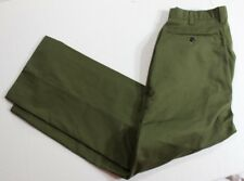 Vintage Men's Boy Scouts of America BSA Green Pants Size 32 x 29 +2 Made in USA
