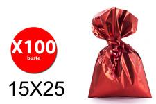 Balmar PF600102 - Taschen Geschenk Mtg-Größe - Rot - 15X25 - Conf. 100 Stk Balma
