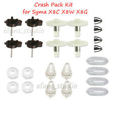 Crash Pack Kit Gear Shafts frame Cover for Syma X8C X8W X8G Drone Spare Parts