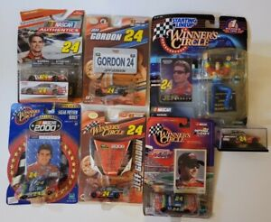Lot of 7 Jeff Gordon #24 Die Cast and Collectibles NIB Sealed. Free Shipping!