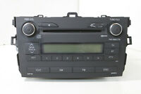 #3141G Toyota Corolla Sedan 2008 LHD RADIO STEREO CD PLAYER 86120-12A30