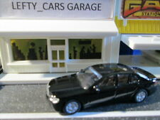 2008 Black BMW 7 SERIES 4Door Car - Very Small Scale 1:87 - RARE!