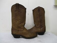 Laredo Brown Leather Cowboy Boots Womens Size 6 M Style 51099