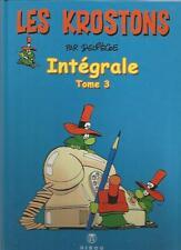 Paul Deliége - Les Krostons - intégrale tome 3 - éditions Hibou