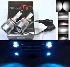 LED Kit C6 72W H8 10000K Blue Two Bulbs Fog Light Replace Plug Play Upgrade Lamp