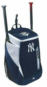 New York Yankees Louisville Slugger Baseball Bag Backpack Batpack Back Pack Bat