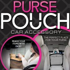 New Purse Pouch Car Organizer Car Accessory Holder Travel Black-As Seen on TV