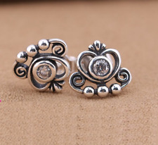 Sterling Silver Delicate Bow Stud Earrings S925ale