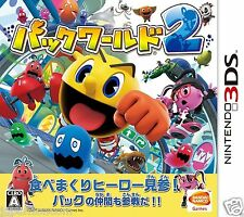 Used Pack World 2 NAMCO NINTENDO 3DS JAPANESE JAPANZON