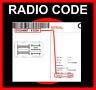 █►RADIO CODE passend für Daiichi Fiat SECURITY CODE