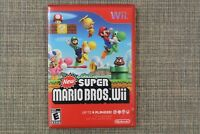 NEW Super Mario Bros: Nintendo Wii family kids game BEST QUALITY, FAST POSTAGE