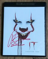 BILL SKARSGARD AUTOGRAPHED IT CHAPTER 2 4K ULTRA HD/BLU RAY - PENNYWISE CLOWN