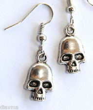 skull emo gothic EARRINGS Jewellery