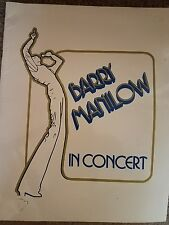 Barry Manilow In Concert Program - 1978 Tour Booklet