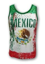 Mexico Flag Men's Tank Top New With Tags #298