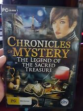 Chronicles of Mystery - Legend of The Sacred Treasure -  PC GAME  - FREE POST *