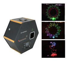 AUCD Mini SD Card DIY Animation DMX RGB Laser Light DJ Party Show Stage Lighting