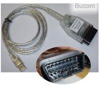 Diagnostic Interface Cable for BMW Inpa Ediabas Eobd USB K+Dcan OBD2 otg Carly