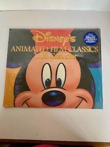 Vintage 1998 Disney's Animated Film Classics Calendar with Stickers