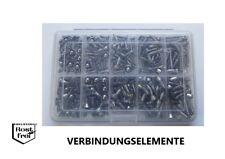 90tlg. Sortiment Senkkopfschrauben mit Innensechskant DIN 7991//A2 M3 Edelstahl