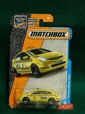 MatchBox #15/125 ~ Toyota Prius Taxi ~ Yellow