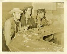 """LES DESPERADOS (THE DESPERADOES)"" Photo originale (Randolph SCOTT, Glenn FORD)"