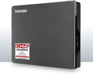 Toshiba Canvio Gaming 4TB black USB 3.0, Black for PlayStation Xbox HDTX140EK3CA