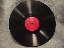 """78 RPM 10"""" Record Tony Pastor Loop-De-Loo & Sioux City Sue Cosmo Records 471"""