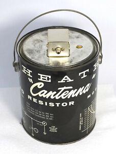 Vintage Heathkit Cantenna HN-31 Radio Transmitter Dummy RF Load Resistor