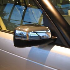 RANGE ROVER L322 NEW CHROME FRONT WING MIRROR COVERS X2, PAIR (2006 ONWARDS)