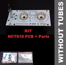 NCT818 Board for 7th and 8th tubes, Nixie Tubes Clock IN-18 DIY KIT[NO TUBES]