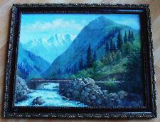 Ölgemälde. Russia Landscape Signed С . Бровко 93