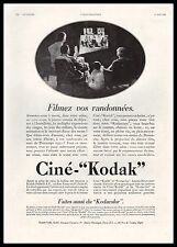 Publicité CINE KODAK  projecteur cinema film vintage print ad  1930 - 1i