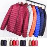 Warmer Men Packable Hoodie Down Jacket Ultralight Coat Winter Hoodie Puffer New