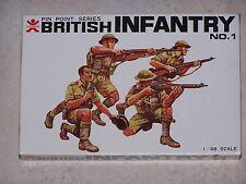 Figurines BANDAI 1/48ème BRITISH INFANTRY