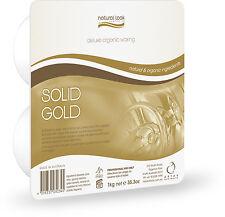 3 x ATV Natural Look Solid Gold Wax 1KG Hard Wax (HOT)