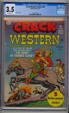 CRACK WESTERN COMICS #69 CGC 5.5 GOLDEN AGE WESTERN