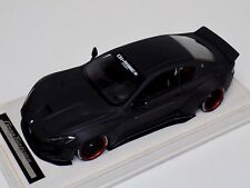 1/18 AB Models Maserati Granturismo Liberty walk Matt  Black Red Alcantara B