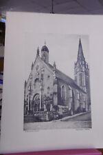 Saint-Calais l'église -Sarthe-Photographie Bouveret.