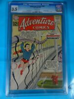 CGC Comic graded 3.5 DC adventure comics  #299 Key 1st gold kryptonite