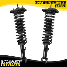1999-2000 Chrysler Cirrus Rear Quick Complete Struts & Coil Springs Mounts Pair