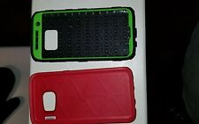 Two-S7cell phone cases OtterBox Symmetry for Samsung S7 Edge + Unbranded case