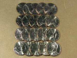 2004-P Kennedy Half Dollar Uncirculated Roll Of 20 Coins