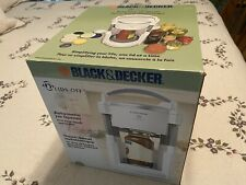 Original Black & Decker JW200 Lids Off Automatic Jar Opener White Electric