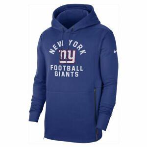 Nike Therma OnField NEW YORK GIANTS NFL Pullover Hoodie NEW Men's Medium $125