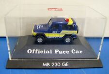 Herpa 1/87 Non Paper Box Official Pace Car MB 230 GE