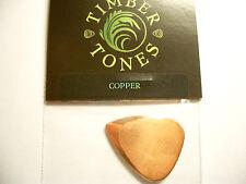 Timber Tones Metal Tones Mini Pick Metallo Plettro Rame