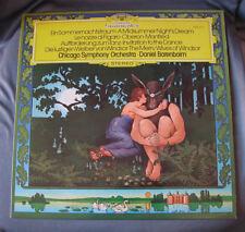 """LP 12"""" 33 rpm BARENBOIM - CHICAGO SYMPHONY ORCHESTRA"""